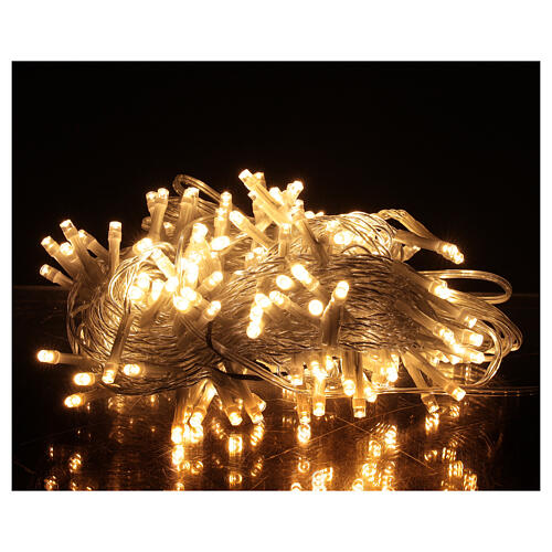 Christmas lights 180 warm white LEDS with light shows timer indoor outdoor 1