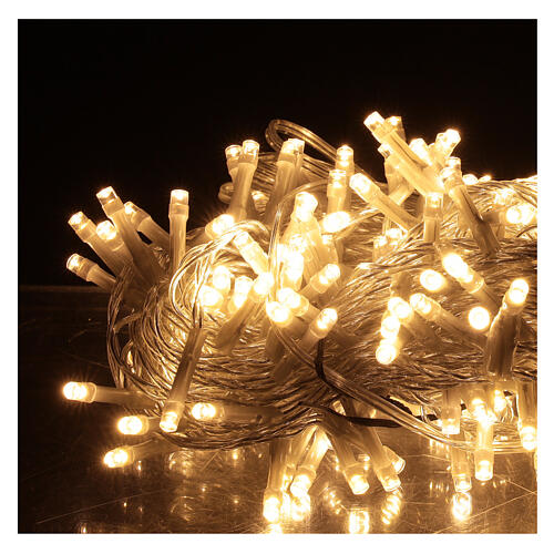 Christmas lights 180 warm white LEDS with light shows timer indoor outdoor 2