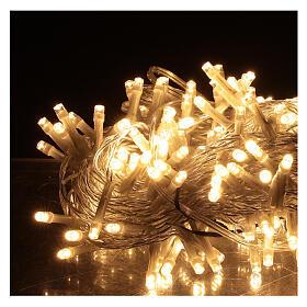 Guirlande 180 LED blanc chaud lumières Noël jeux minuteur intérieur extérieur s2
