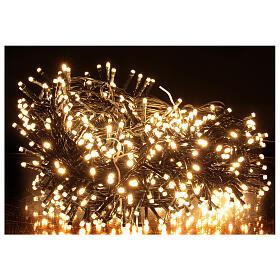 String lights 750 LEDs warm white light shows indoor outdoor 37.5 m s1