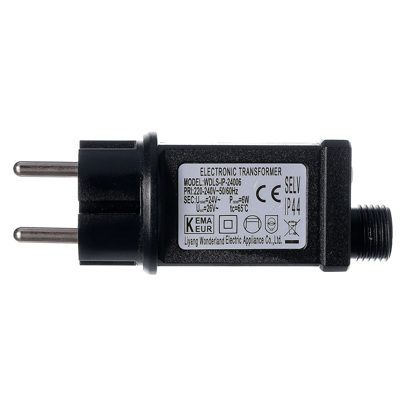 Guirlande lumineuse LED 1000 lumières blanc froid câble noir 50 m INT/EXT 3