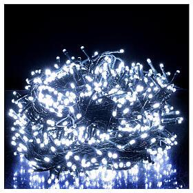 Guirlande lumineuse LED 1000 lumières blanc froid câble noir 50 m INT/EXT s1