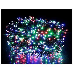 Multi-colour Christmas lights 1000 outdoor indoor 50 m s1