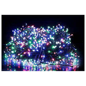 Multi-colour Christmas lights 1000 outdoor indoor 50 m s7
