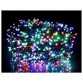 Luz Navidad cadena 1000 led multicolor ext int 50 m s1