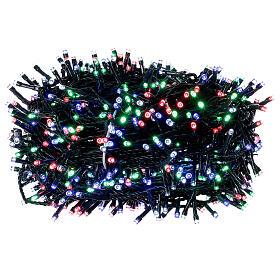 Luz Navidad cadena 1000 led multicolor ext int 50 m s3