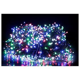 Luz Navidad cadena 1000 led multicolor ext int 50 m s7