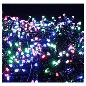 Luz Navidad cadena 1000 led multicolor ext int 50 m s8