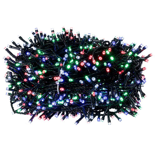 Luz Navidad cadena 1000 led multicolor ext int 50 m 3