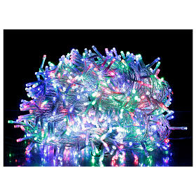 Christmas lights 1000 multi-colour LEDS 50 m indoor outdoor s1