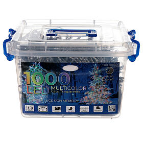 Christmas lights 1000 multi-colour LEDS 50 m indoor outdoor s4