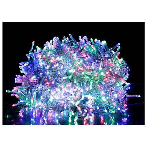 Christmas lights 1000 multi-colour LEDS 50 m indoor outdoor 1