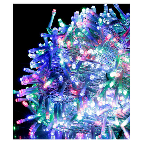 Christmas lights 1000 multi-color LEDS 50 m indoor outdoor 2