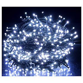 LED Christmas lights 800 multi-colour 2 in 1 dark wire 56 m indoor outdoor s2