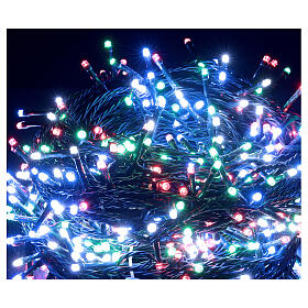 LED Christmas lights 800 multi-colour 2 in 1 dark wire 56 m indoor outdoor s3