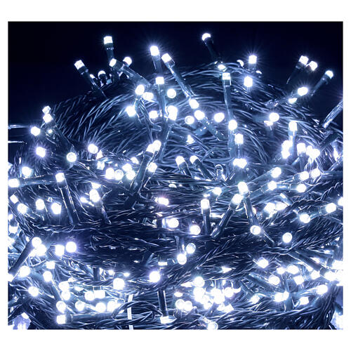 LED Christmas lights 800 multi-colour 2 in 1 dark wire 56 m indoor outdoor 4