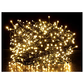 Christmas string lights 800 LEDs 2 in 1 warm white multi-colour 56 m indoor outdoor s1