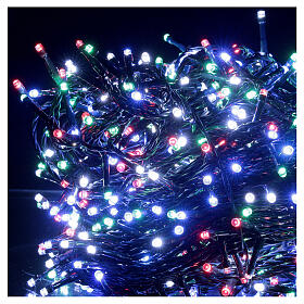 Christmas string lights 800 LEDs 2 in 1 warm white multi-colour 56 m indoor outdoor s3