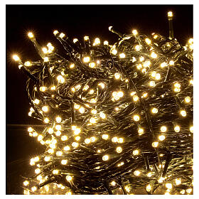 Christmas string lights 800 LEDs 2 in 1 warm white multi-colour 56 m indoor outdoor s4