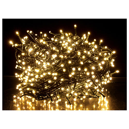 Christmas string lights 800 LEDs 2 in 1 warm white multi-colour 56 m indoor outdoor 1