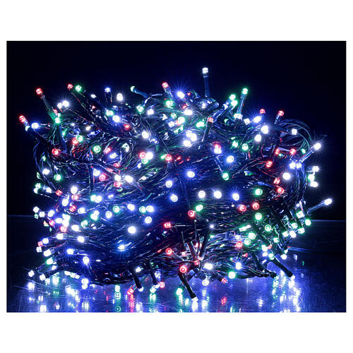 Christmas string lights 800 LEDs 2 in 1 warm white multi-colour 56 m indoor outdoor 2