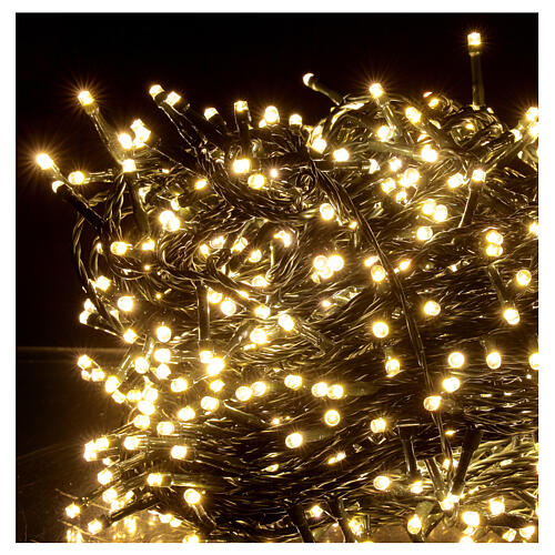 Christmas string lights 800 LEDs 2 in 1 warm white multi-colour 56 m indoor outdoor 4