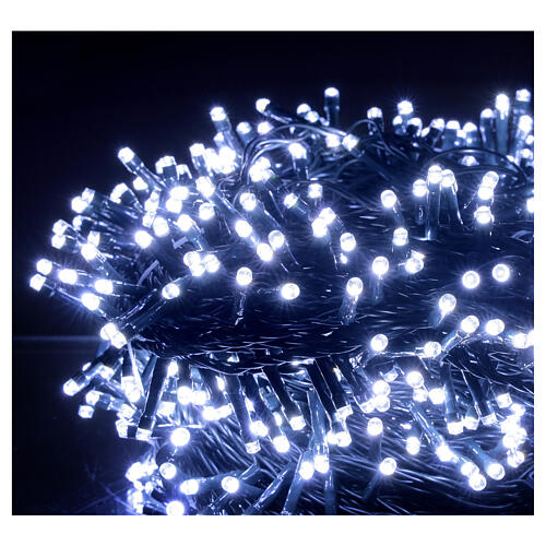 Christmas lights 800 LEDs 2 in 1 cold and warm white 56 m indoor outdoor 4