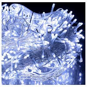 Catena luminosa 800 led 2 in 1 bianco freddo multicolor 56 m int est s4
