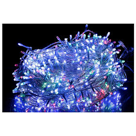 LED Christmas lights 800 lights 2 in 1 warm white multi-color 56 m indoor outdoor s2