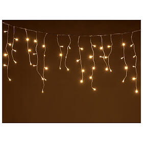 String light curtain 180 LEDs 4.2 m warm white indoor outdoor s1