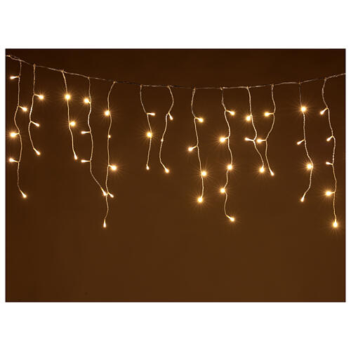 String light curtain 180 LEDs 4.2 m warm white indoor outdoor 1