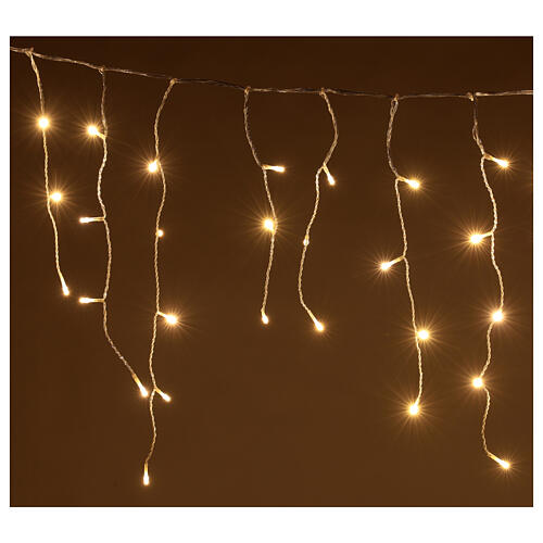 String light curtain 180 LEDs 4.2 m warm white indoor outdoor 2