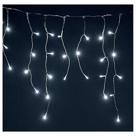 Icicle curtain 180 cold white LEDs 4,2 m indoor/outdoor s2