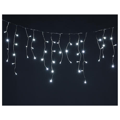 Icicle curtain 180 cold white LEDs 4,2 m indoor/outdoor 1