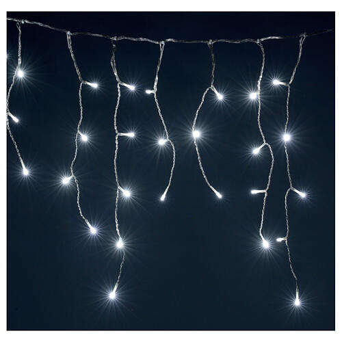 Icicle curtain 180 cold white LEDs 4,2 m indoor/outdoor 2