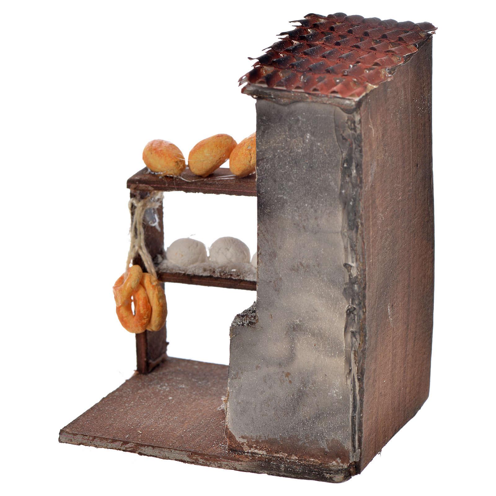 Horno para le pan 8,5x5x6 cm pesebre Nápoles 4