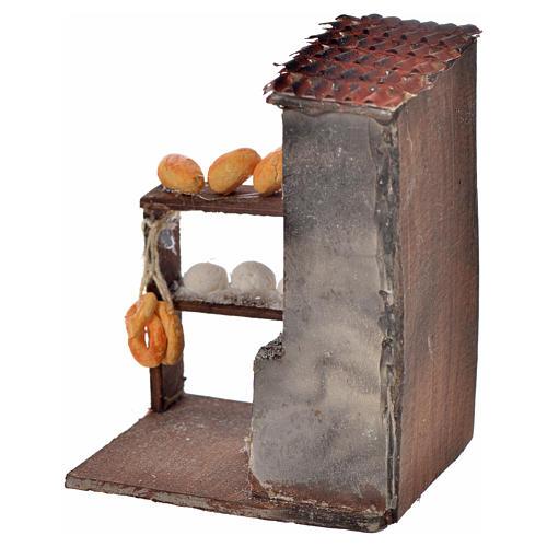 Horno para le pan 8,5x5x6 cm pesebre Nápoles 2
