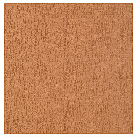 Paisagens, Cenários de Papel e Painéis para Presépio: Painel cortiça parede pedras miniaturas 100x50x1 cm