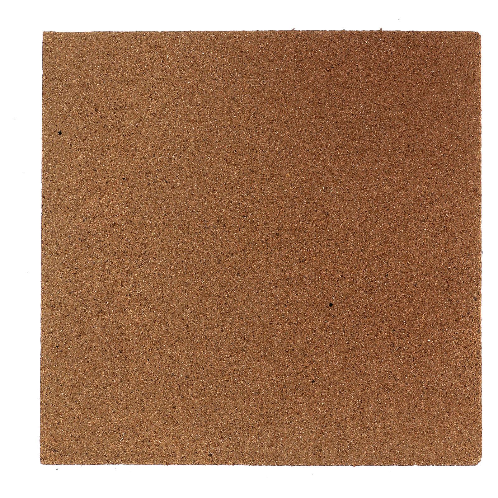 Plancha corcho muro piedra pequeña 100x50x1 4