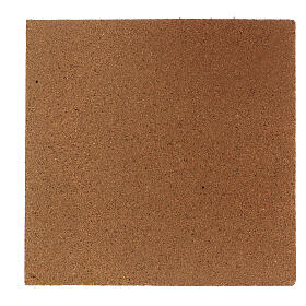 Panneau liège imitation mur pierres petites cm 100x50x1 s4