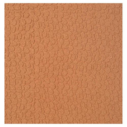 Panneau liège imitation mur pierres petites cm 100x50x1 1