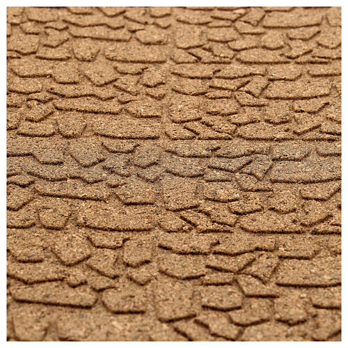 Panneau liège imitation mur pierres petites cm 100x50x1 2