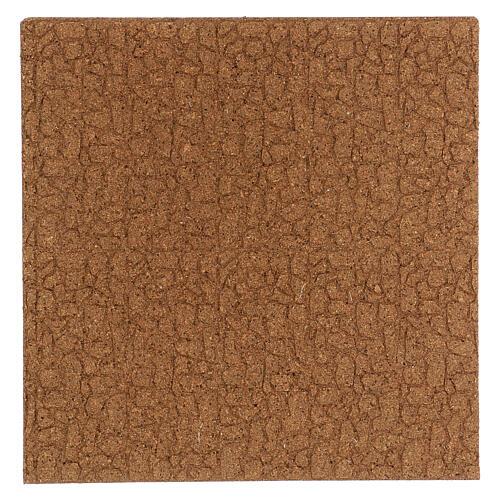 Panneau liège imitation mur pierres petites cm 100x50x1 3