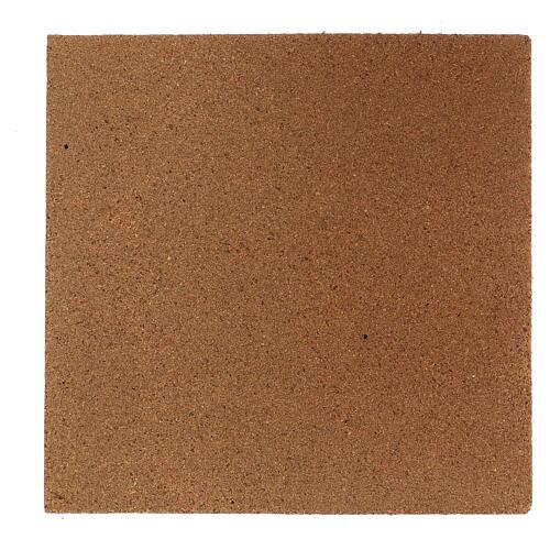 Panneau liège imitation mur pierres petites cm 100x50x1 4