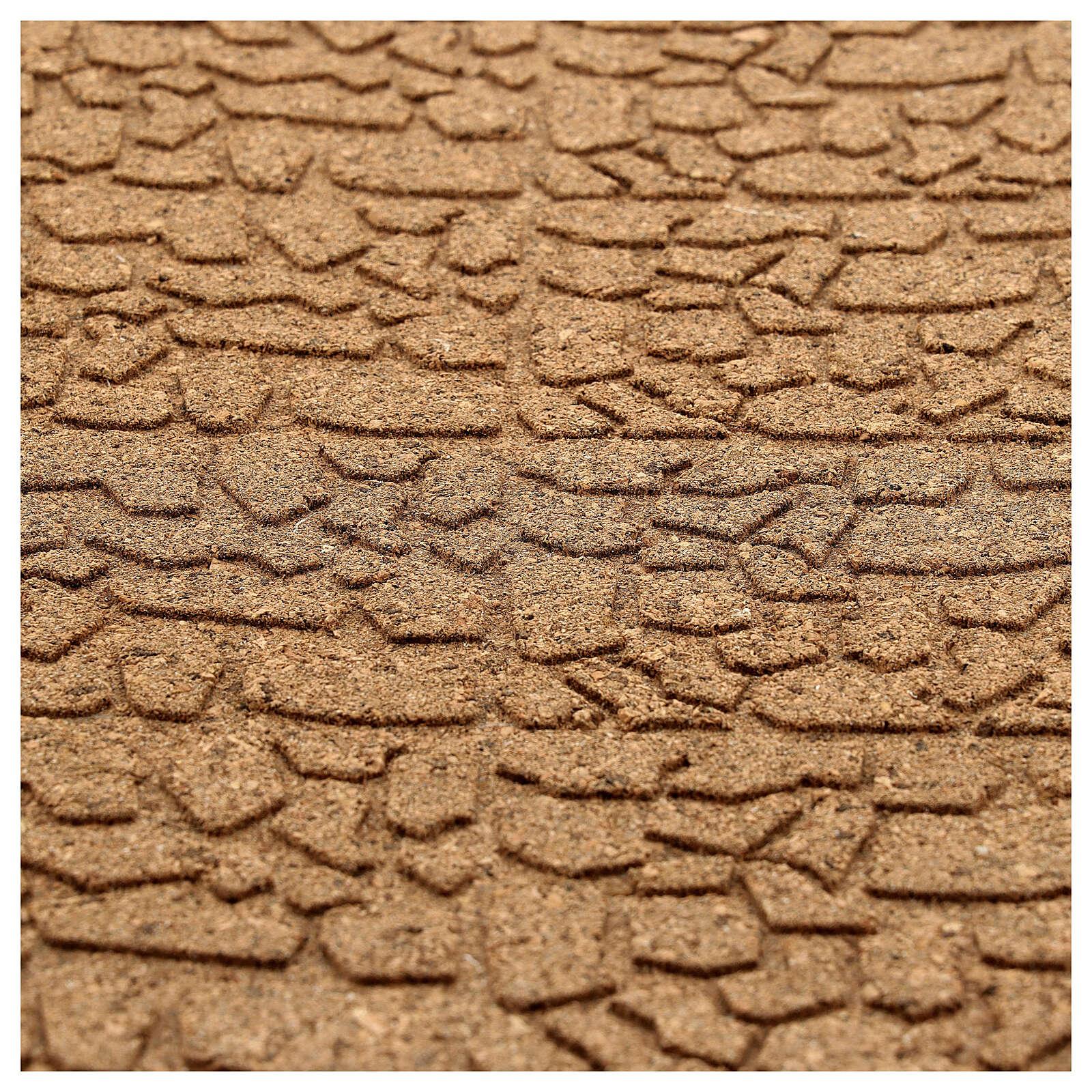 Pannello sughero muro pietra piccola 100x50x1 4