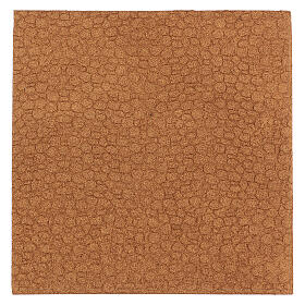 Plancha corcho muro piedra irregular 100x50x1 s3