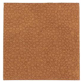 Panneau liège imitation mur pierres cm 100x50x1 s3