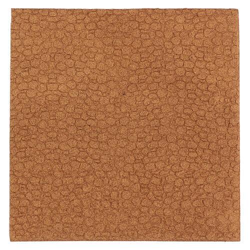 Panneau liège imitation mur pierres cm 100x50x1 3
