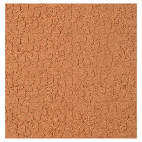 Pannello sughero muro pietra sfalsata 100x50x1 s1