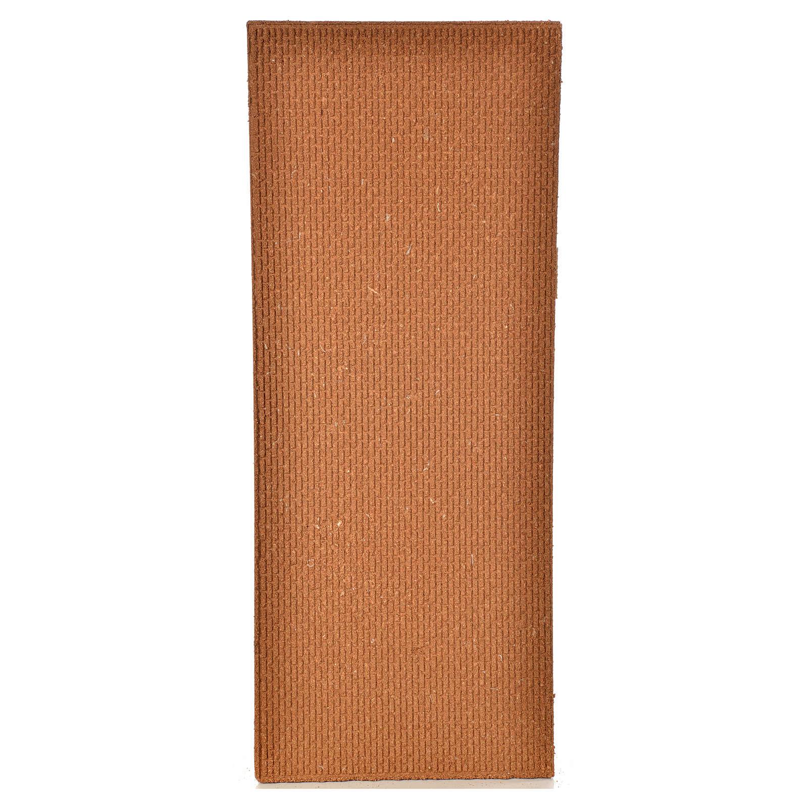Plancha corcho muro ladrillos pequeños 100x40x1 4
